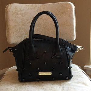 Steve Madden black studded purse